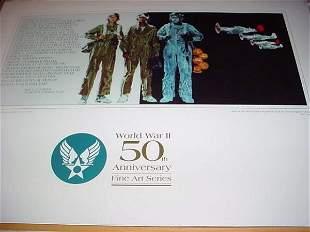 World War II 50th Anniversary Fine Art Series