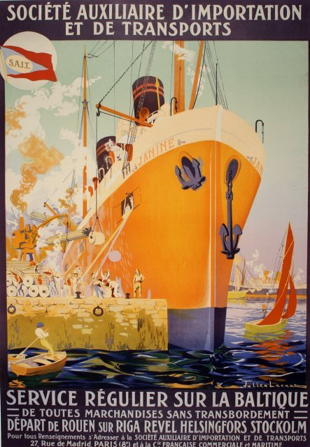 2506823: Vintage Poster by LACAZE C1925 #11004