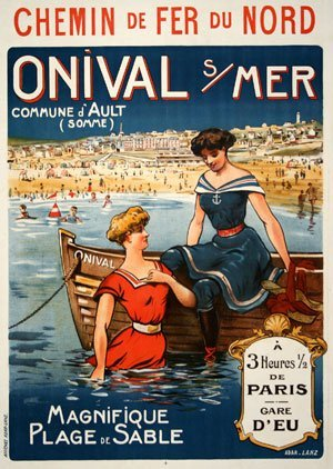 2506831: Vintage Poster by ADAR LANZ C1905 #997