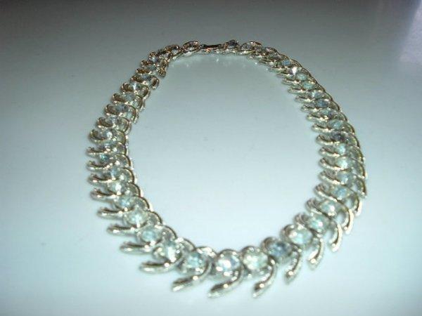 2518307: Exquisite Coro Rhinestone Necklace Marked in