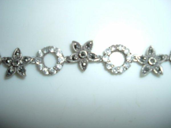 2518333: Vintage Mexican Sterling Link Bracelet