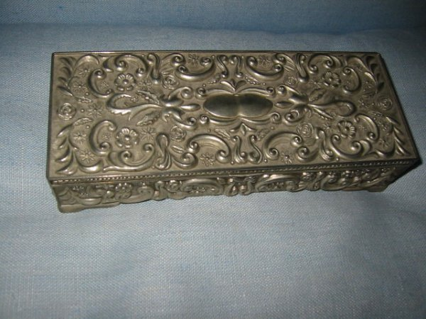 2525175 Godinger Silver Jewelry Box Velvet Interior
