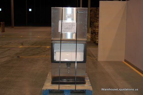 5: Scotsman Ice Machine with Stainless Steel Ice-Bin