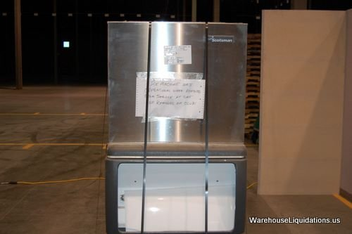 5: Scotsman Ice Machine with Stainless Steel Ice-Bin - 2