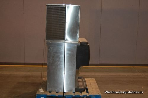 5: Scotsman Ice Machine with Stainless Steel Ice-Bin - 3