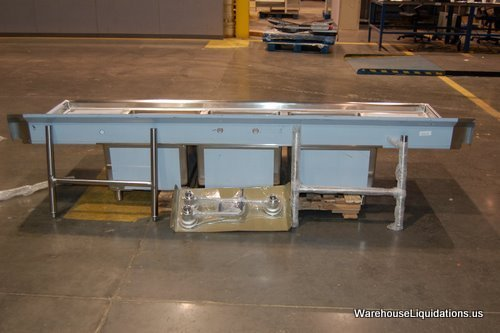 6: Like New;ENCORE Commercial Stainless Steel Sinks