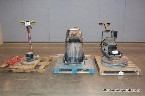 246: Kawasaki Floor Buffer/ 2 NSS Floor Polishers