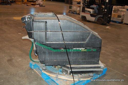 254: Wrangler Floor Scrubber 26VS