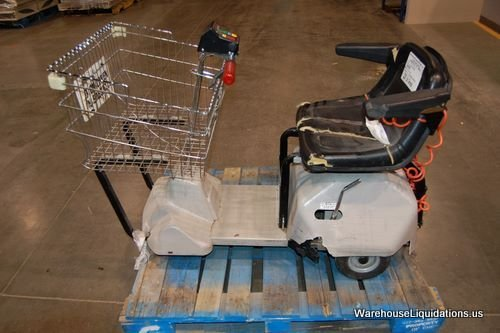 230: Used Cart Mart Electric Shopping Cart