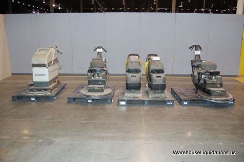 232: Floor Buffers Carpet Scrubber and Carpet Cleaners