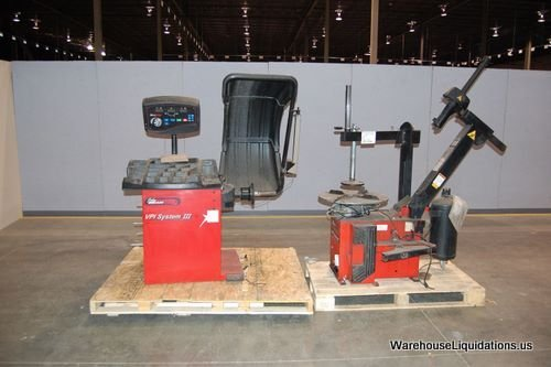 305: Used John Bean Tire Changer and Tire Balancer