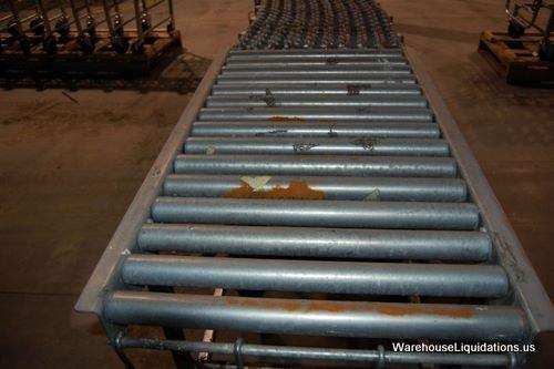 336: 1 Used 1 Like New NESTAFLEX-376 Gravity Conveyor - 4