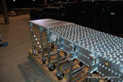 336: 1 Used 1 Like New NESTAFLEX-376 Gravity Conveyor - 5