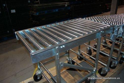 336: 1 Used 1 Like New NESTAFLEX-376 Gravity Conveyor - 6