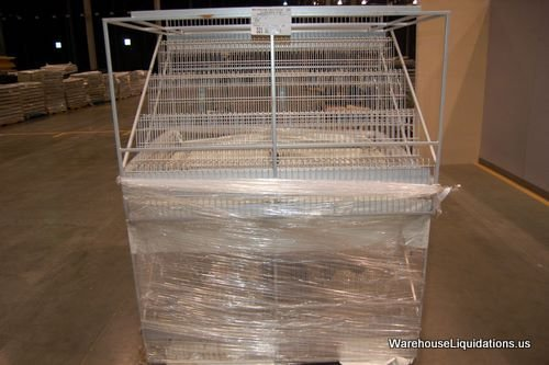 2 Multi Step Retail Racks - Great for Flea Markets