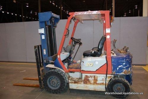 449: Komatsu Forklift