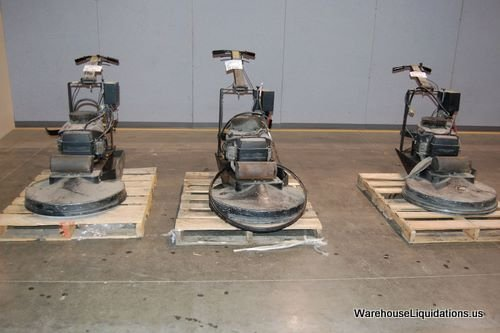 323: 3 Used NSS 6102732 Propane Floor Polishers