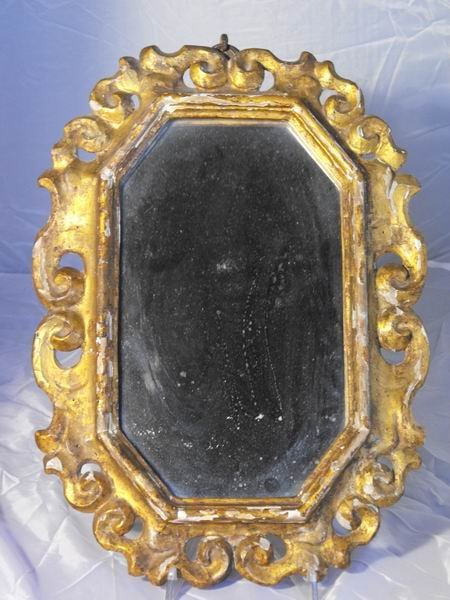 204: Wooden mirror