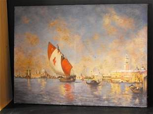 01: VIEW OF VENICE 19th. C.