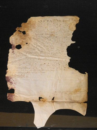 07: VELLUM MANUSCRIPT DATED 1260