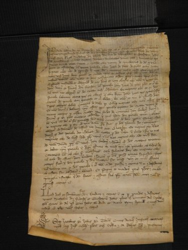 09: VELLUM MANUSCRIPT DATED 1392