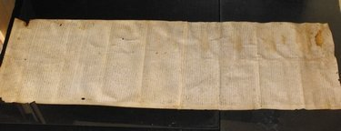 12: VELLUM MANUSCRIPT DATED 1511