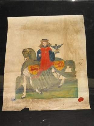 ITALIAN MINIATOR OF 16th. century