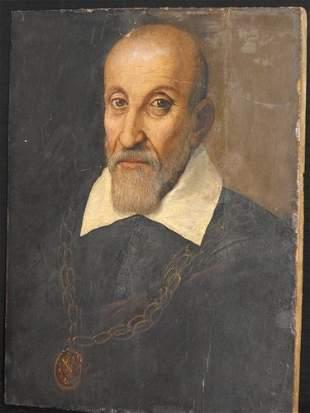 OLD MASTER PAINTING NERI DI BACCIO FIRENZE 17th. C.