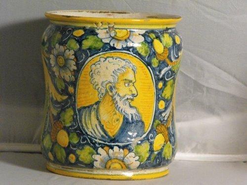 09: PHARMACY DRUG JAR, VENICE 19TH. C.