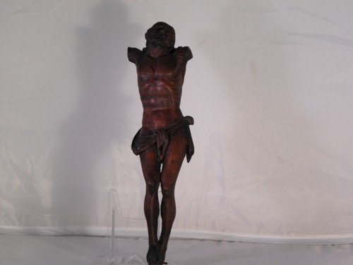 05: WOODEN BODY OF CHRIST 18Th. C.
