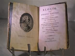 PRAISE of Amerigo Vespucci, 1798