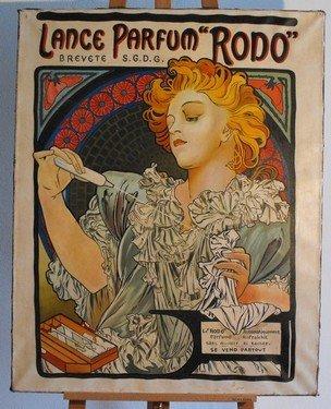 5: Lance Parfum RODO, oil on canvas.