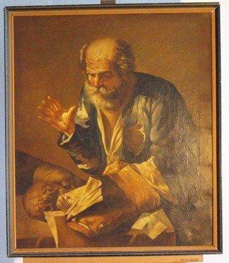 7: San Girolamo, oil on canvas.
