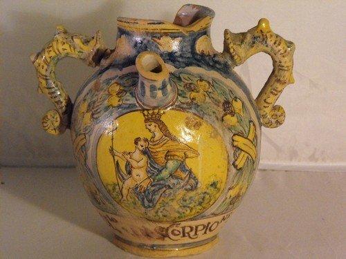 69: Apothecary jar, Tuscany 16Th. C.