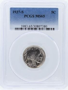 1937-S PCGS MS65 Buffalo Nickel