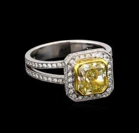 18KT White Gold 2.75tcw Diamond Ring
