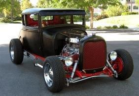 1929 Ford Model A Coupe Custom Hotrod