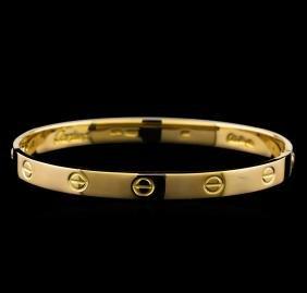 Cartier Bracelet With Screwdriver - 18KT Yellow Gold