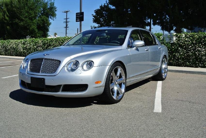 2006 Silver Bentley Continental Flying Spur