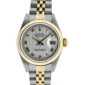 Rolex 18KT Two-Tone DateJust Ladies Watch