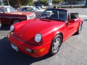 1991 Porsche Carrera 2 Cabriolet