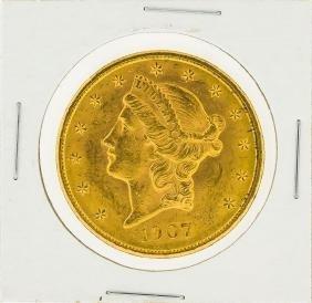 1907 $20 Liberty Head Double Eagle Gold Coin