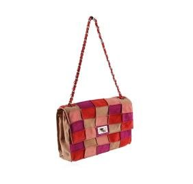 Chanel Multi-color Leather Bag with Flap