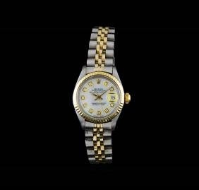 Rolex Two-Tone DateJust Ladies Watch