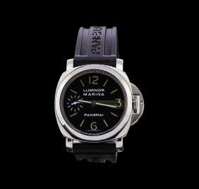 Panerai Stainless Steel Luminor Marina Watch