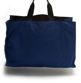 Prada Blue Oversized Nylon Tote Bag