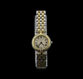 Cartier 18KT Two-Tone Panthere Vendome Ladies Watch