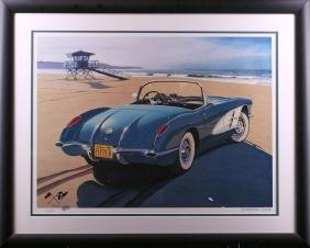 Harold James Cleworth 58 Corvette Limited Edition