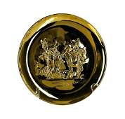 Sterling Silver Salvador Dali 1972 Annual Plate from