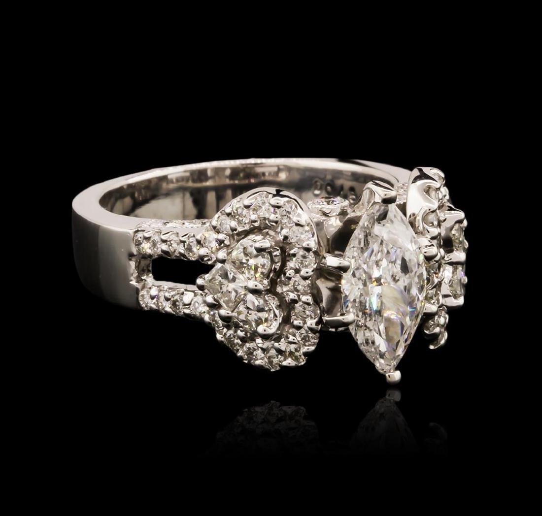 18KT White Gold 1.83 ctw Diamond Ring
